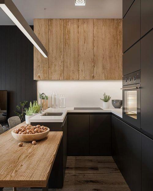 materiali cucina legno